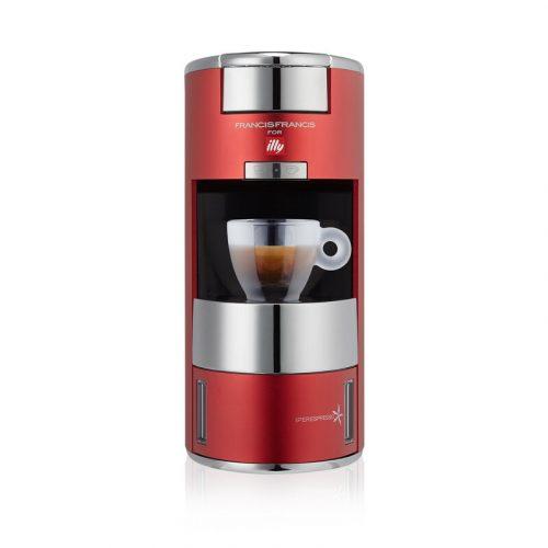 Espressor-illy-Francis-Francis-X9-capsule-IperEspresso-Satin-Red-tuttocapsule-craiova