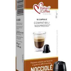 Italian Coffee Nocciola Nespresso