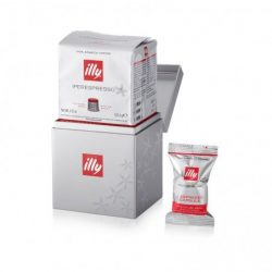iLLY Cubo - Suport capsule (IperEspresso illy MPS) - Metalic