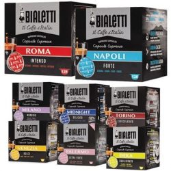 Bialetti Variety Pack 128 Capsule (Bundle 8x16)
