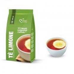 Italian Coffee - Te Limone - Ceai de lamaie 12 Capsule