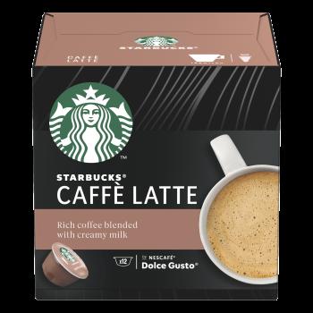 Starbucks Caffe Latte - 12 Capsule (Dolce Gusto)