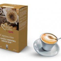 Italian Coffee - CAPPUCCINO - Lavazza Blue In Black 15 Capsule